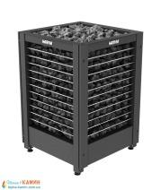Электрическая печь (каменка)  Harvia Modulo MD135G черная для сауны и бани. Фото 3