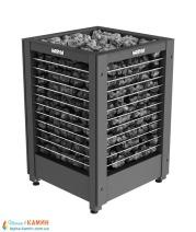 Электрическая печь (каменка)  Harvia Modulo MD135G черная для сауны и бани. Фото 2