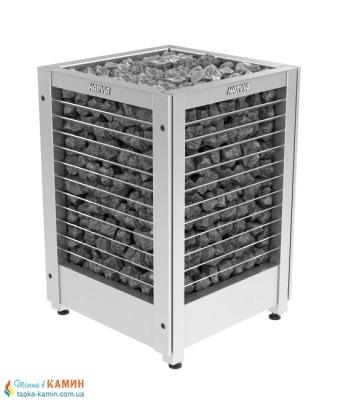 Электрическая печь (каменка)  Harvia Modulo MD135G steel для сауны и бани