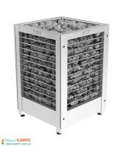 Электрическая печь (каменка)  Harvia Modulo MD135G steel для сауны и бани. Фото 3