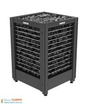Электрическая печь (каменка)  Harvia Modulo MD160G черная для сауны и бани. Фото 3