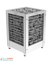 Электрическая печь (каменка)  Harvia Modulo MDS160G steel для сауны и бани. Фото 3