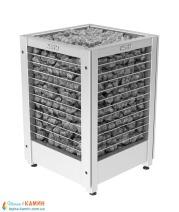 Электрическая печь (каменка)  Harvia Modulo MDS180G steel для сауны и бани. Фото 4