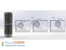 Защитные пластины для установки близ стены/угла HPC5 для каменок Harvia Cilindro. Фото 3