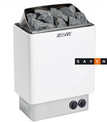 Электрическая каменка Harvia Trendi KIP90 белая для сауны и бани