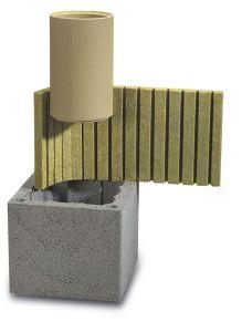 Керамический модульный дымоход Schiedel Uni (одноходовой без вентиляции)