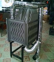 Система подвода воздуха для топки KAWMET W17 14кВт
