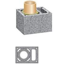 Керамический модульный дымоход Schiedel Uni (одноходовой с вентиляцией). Фото 2