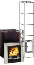 Керамический модульный дымоход Schiedel Uni (двухходовой с вентиляцией). Фото 7