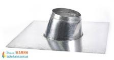Крыза для дымохода с нержавеющей стали (0,5мм) Ø110