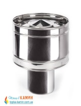 Волпер с нержавеющей стали одностенный (0,5мм) от Ø100-Ø400