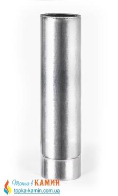 Труба дымоходная двустенная термоизоляционная с нержавеющей стали (0,5мм) L=1.0м от Ø100/160