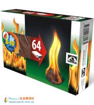 Разжигатель огня 64 шт.