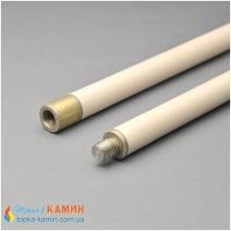 Гибкая ручка к щетке для очистки дымохода длина 1 м. 1 шт в упаковке.