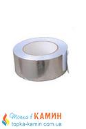 Скотч алюминиевый для сауны (150°С) 50м/рулон