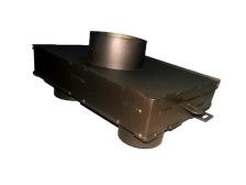 Долот (адаптер) стальной для подачи воздуха снаружы KAWMET к моделям W17 16,1 kW /12,3 kW ECO. Фото 6