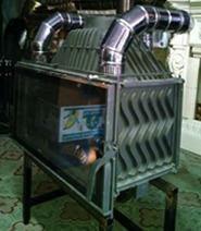 Система подвода воздуха для топки KAWMET W16 18 kW. Фото 4