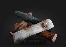 Керамические дрова GLOBMETAL к биокаминам. Фото 2