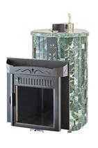 Дровяная печь для бани Ферингер Ламель Макси облицовка Змеевик (закрытая каменка) 30 м3