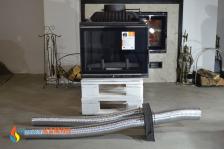 Комплект системы подачи воздуха снаружи для топок KAWMET к модели W17 (12,3kW/16,1kW). Фото 4