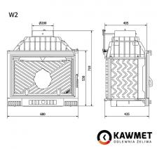 Каминная топка KAWMET W2 (14,4 kW). Фото 9