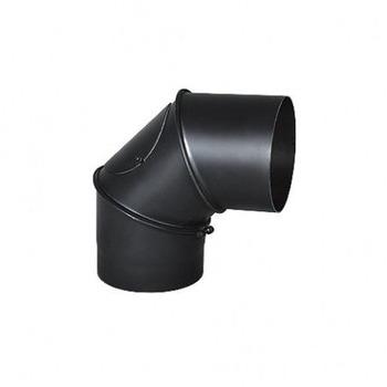 Колено для дымохода универсальное регулированое (UNI) 90°  Ø130