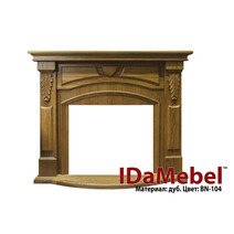 Камин портал для электрокамина DIMPLEX IDaMebel Paris (портал без очага под индивидуальный заказ). Фото 5